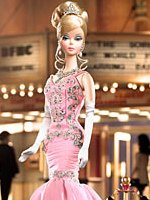 The Soiree Barbie (Pink Dress, Platinum label)