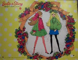 Barbie & Stacey Sleep & Keep Case