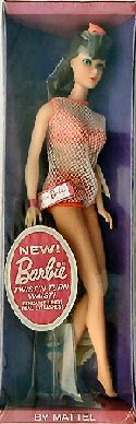1967 Twist 'n Turn Barbie Doll
