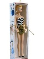 Teen Age Fashion Model Barbie Ornament
