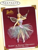2005 Barbie as Titania Ornament