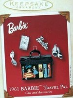 Travel Pal Case Barbie Ornament
