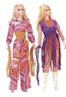Vintage Barbies 1971 - 1972