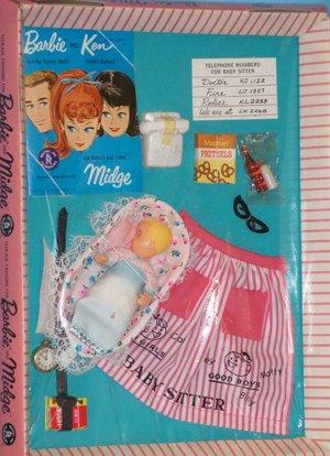 Vintage Barbie Baby-Sits
