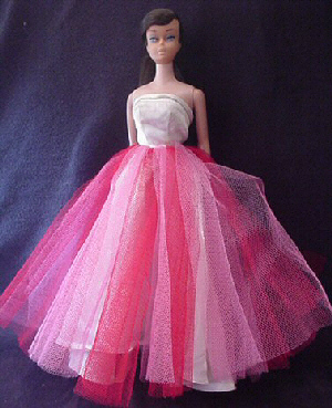 Pink barbie dress for prom