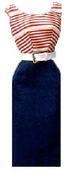 Vintage Barbie Cruise Stripes #918 (1959-1962)