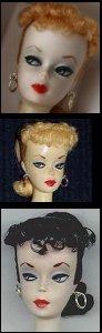 Vintage Barbie Ponytail Dolls