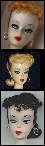 #1 Barbie Ponytails - 1959 - First Barbie Doll
