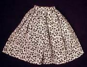 Vintage Barbie Fashion Pak Cotton Gathered Skirt