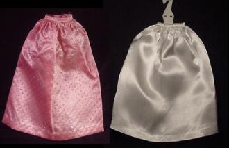 Vintage Barbie Fashion Pak Satin Long Skirt (1963)