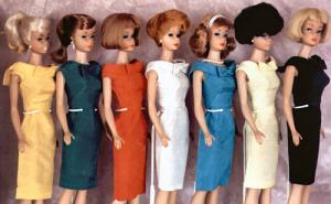 Vintage Barbie Fashion Pak Silk Sheath Dress (1962-1963)