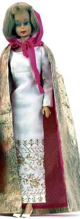 American Girl Barbie wearing Formal Occasion  #1697 (1967)