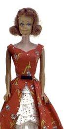 Vintage Barbie Garden Tea Party