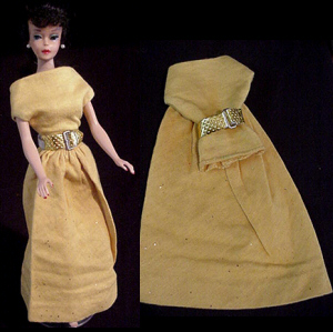 Vintage Barbie Golden Evening