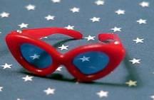 Vintage Barbie Red Sunglasses