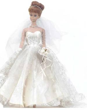 Barbie Wedding Dress.Vintage Barbie Wedding Day Set