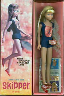 1967 Bendable Leg Skipper Doll