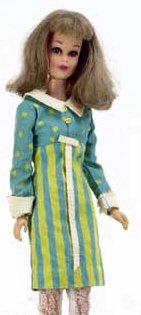 Francie wearing It's A Date #1251 (1966)