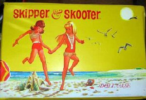 1965 Vintage Skipper and Skooter Case