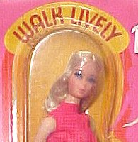 Walk Lively Barbie Doll