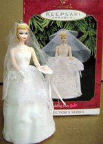 1997 Wedding Day Barbie Ornament