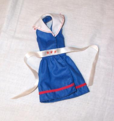 nautical barbie dress