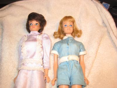 My mom's barbie dolls