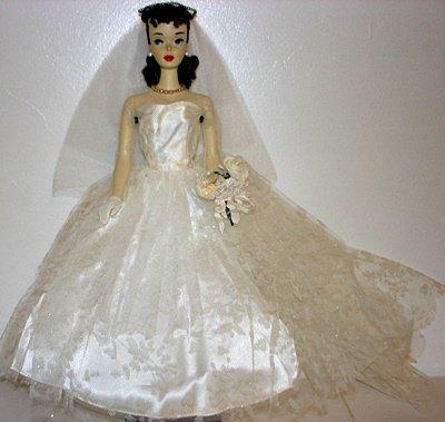 #3 Vintage Barbie Ponytail Doll