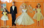 1964 Barbie Wedding Party Gift Set