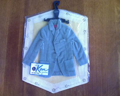 Vintage Ken doll coat