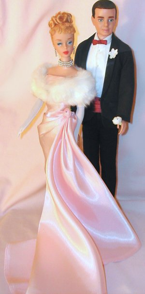 1961 Ken & Barbie Dolls
