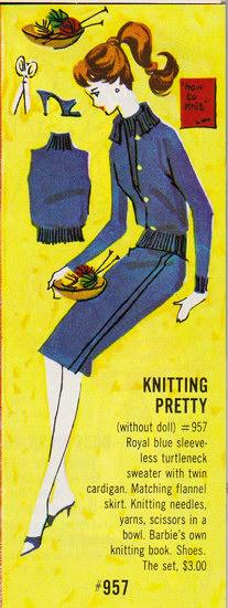 Knitting Pretty Royal Blue Catalog Image