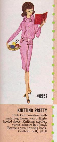 Knitting Pretty Pink Catalog Image