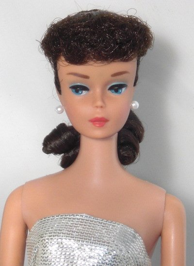 Number 6 Ponytail Vintage Barbie Doll  1962 - 1964