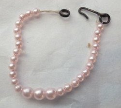 Plantation Belle pink pearl necklace