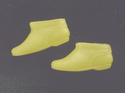 My Barbie's (Fluo) Yellow Pixie Boots