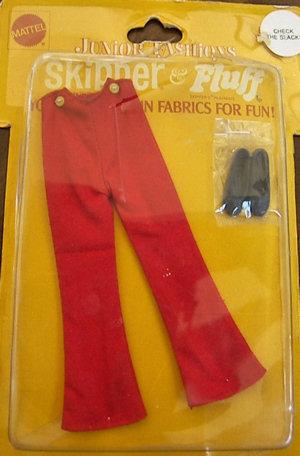 Vintage Skipper Check The Suit (1971 Fashion Pak)
