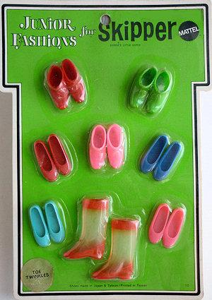 Vintage Skipper Toe Twinklers (1970 Fashion Pak)