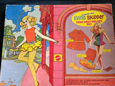 Skipper Very Best Velvet Gift Set Box #1586 (1970 - 1971)