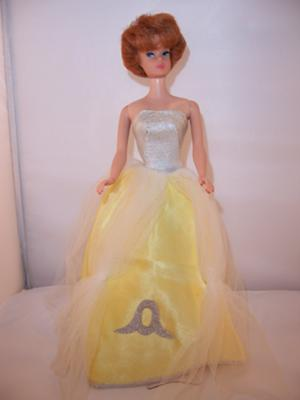 Identification Help: Barbie Yellow Satin Gown