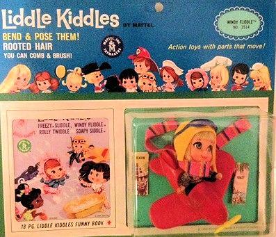 Windy Fliddle Liddle Kiddle mint on card